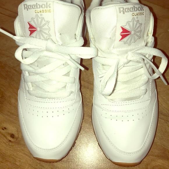 Reebok Shoes - Women s Reebok classics with gum bottom 8cc605faf8